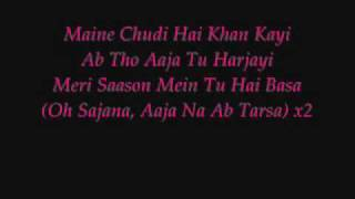Maine Payal Hai Chankai - With Lyrics