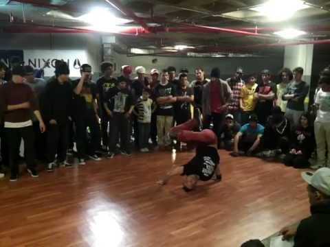 Redbull BC One Top 16 Elimination 2012  - Le Royal Amman Jordan - Bboy Millz, Anas, Yaser