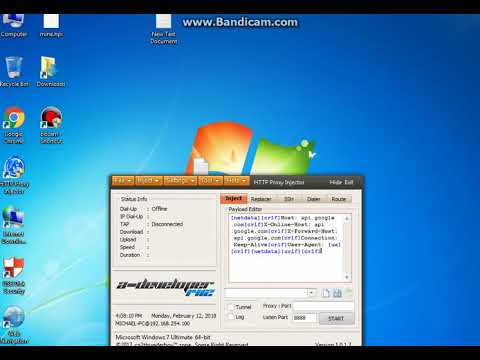 Http Injector For Pc Tutorial Youtube