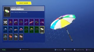 Unlocking the 'Beach umbrella' with Jim.Fortnite season 5