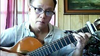 Lâu Đài Tình Ái (Trần Thiện Thanh - thơ: Mai Trung Tĩnh) - Guitar Cover
