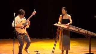 Korean folk song 'Ong Hei Ya' jamming Luna and Shuji Hata