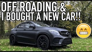 GLE43 AMG COUPE OFF ROADING & IVE BOUGHT A NEW CAR!!!