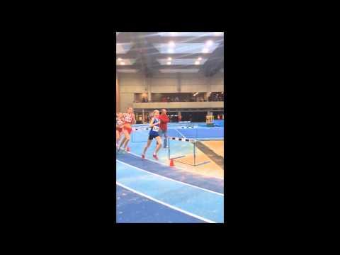 3000m Hallen-Landesmeisterschaften 2015 - Josina Papenfuß! - HD