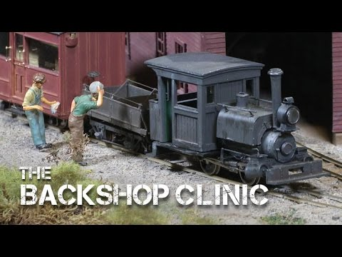 TrainMasters TV preview - The Backshop Clinic: Narrow Gauge Niche