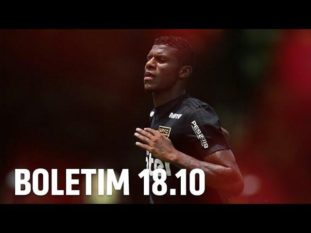 BOLETIM + ARBOLEDA: 18.10 | SPFCTV