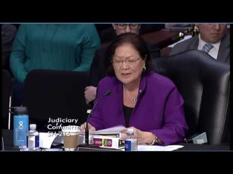 Sen Hirono On Why Gorsuch Should Not Be Confirmed  Full Statement