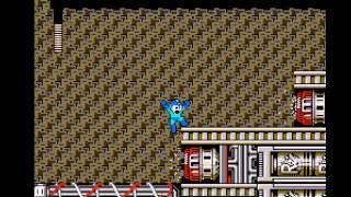 Mega Man 3 - Vizzed.com Showoffery-Reaching Magnetman - User video