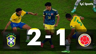 Brasil 2-1 Colombia I Copa América 2021