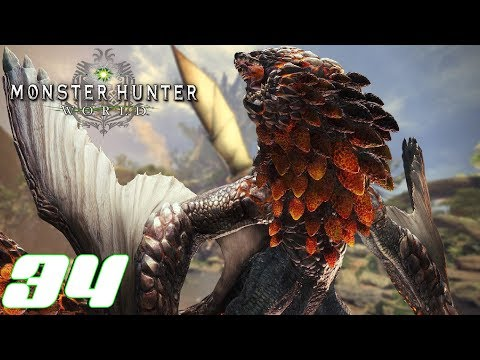 Monster Hunter World Ps4 German #33 Zwei gehärtete Bazelgeuse thumbnail