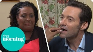 Hugh Jackman Is Fed Chocolates by Alison as She Turns Their Interview Into a Date! | This Morning