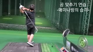 골프공 맞추기 연습