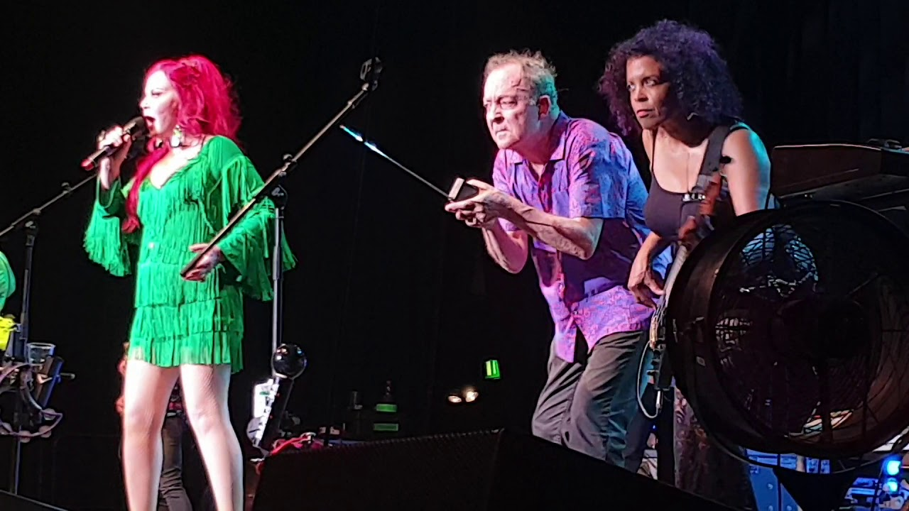 The B 52 S Planet Claire Live In E Werk Cologne