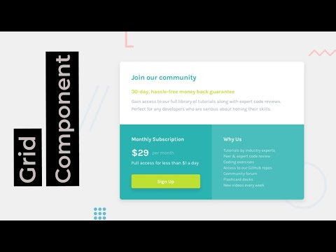 Single Price Grid Component | Frontend Mentor Challenge