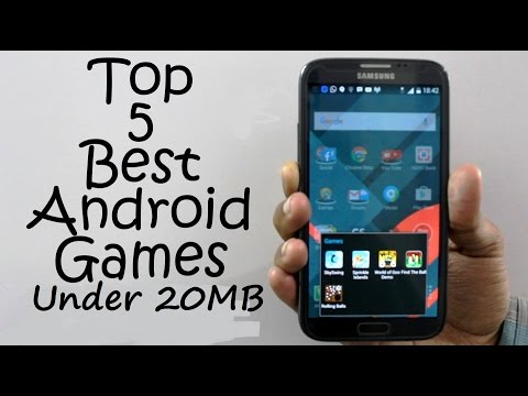 Best Top 5 Android Games under 20MB
