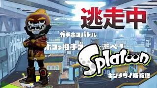 【スプラトゥーン】逃走中をイカでやってみた inキンメダイ美術館【実況】Splatoon thumbnail