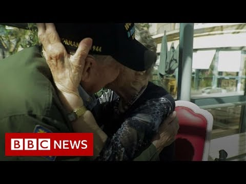 Michael Berry - WWII Vet Reunites With The French Woman He Fell In Love With 75-Years Ago