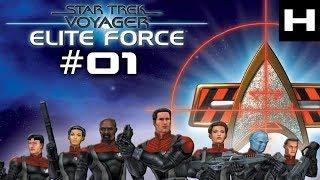 Star Trek Voyager Elite Force Walkthrough Part 01 [PC]