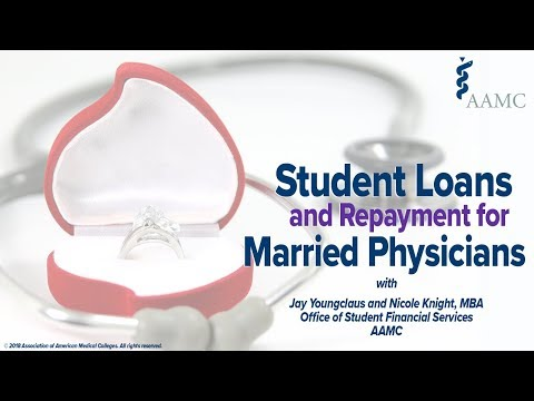 Student Loans and Repayment for Married Physicians