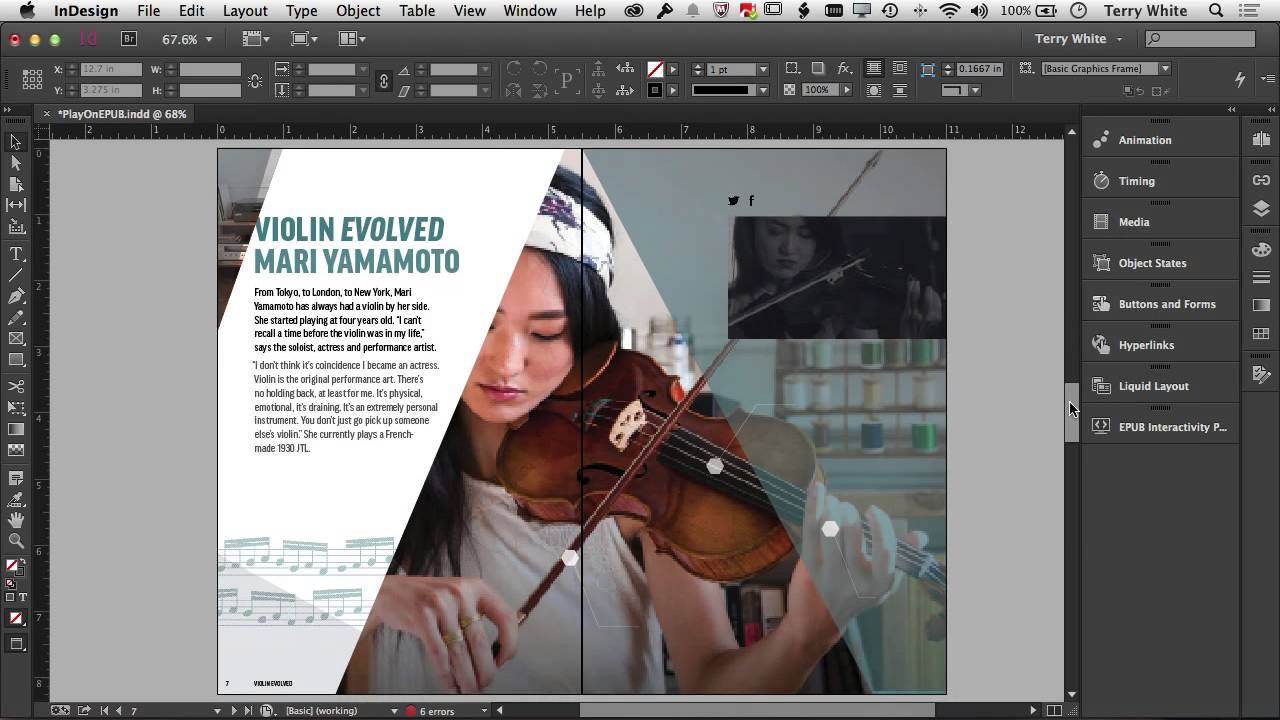 What's New in the October 2014 Update to Adobe InDesign CC