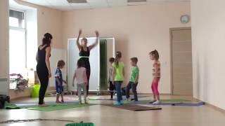 Детская йога | Курс инструкторов - Урок с детьми на курсе