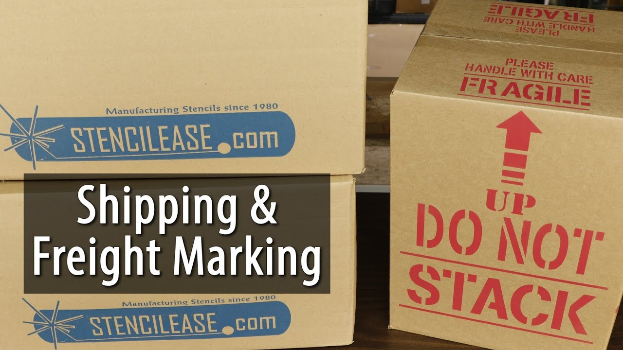 How to Mark Shipping and Freight Containers