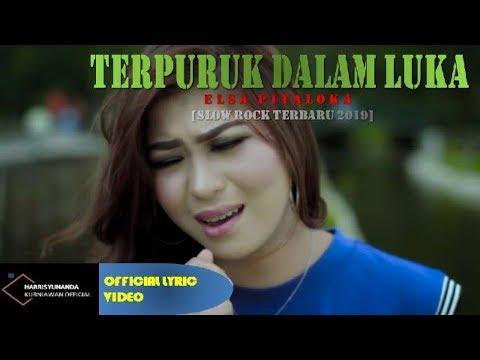 Free Download Elsa Pitaloka - Terpuruk Dalam Luka ( Official Lyric Video ) Mp3 dan Mp4