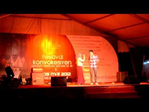 Terlanjur cinta-Neyda & Taleeb Mizad[live] UTM Konvokesyen ke 48 2012[1].