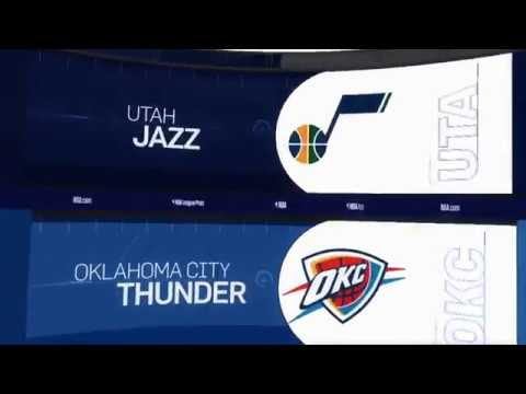 Utah Jazz vs Oklahoma City Thunder Game Recap | 12/10/18 | NBA
