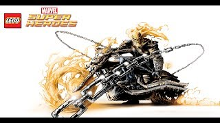 LEGO Marvel Super Heroes - Unlocking Ghost Rider's Motorcycle (All Ghost Rider Missions) + Free Roam