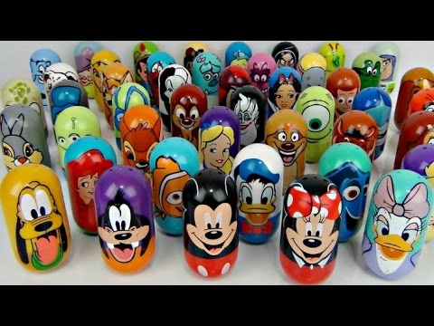 Thumbnail: LOTS OF DISNEY WEEBLES! Fun Wobble Toys Minnie Mickey Mouse Clubhouse, Finding Dory, Princess / TUYC