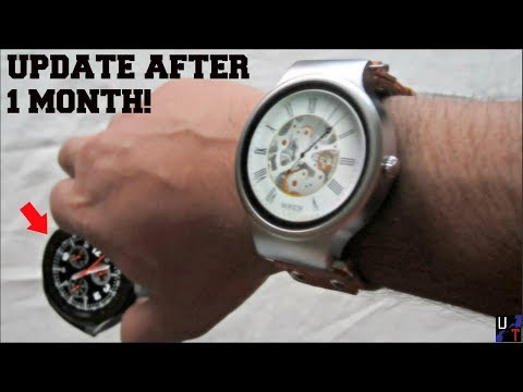 Kingwear KW98 Smartwatch Review Update: I Found A Better Watch For The Same Price!