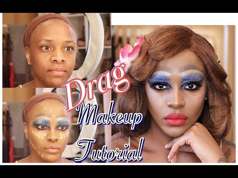DRAG MAKEUP TUTORIAL | Lavidaques Baby!!