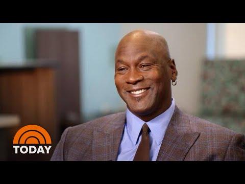nowy haj złapać topowe marki Michael Jordan: Being A New Grandfather Is Fun | TODAY - YouTube