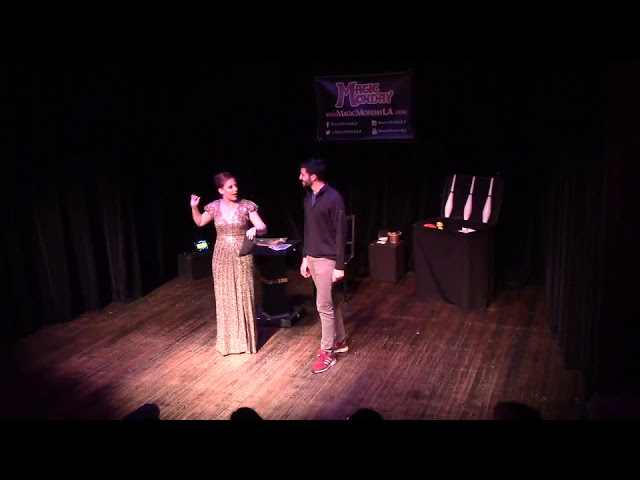 Joan DuKore Performs at Magic Monday LA