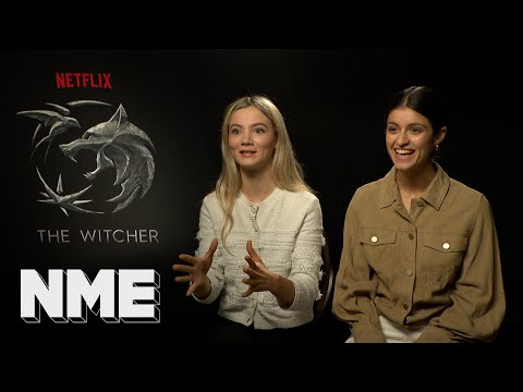 The Witcher | Freya Allan and Anya Chalotra on their hopes for ...