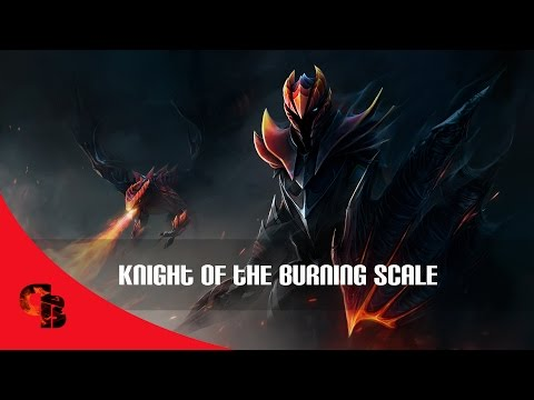 Dota 2: Store - Dragon Knight - Knight Of The Burning Scale