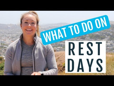 What To Do on Rest Days for Running