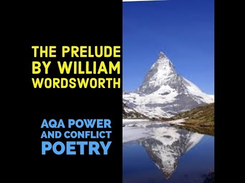 Analysing The Prelude by Wordsworth
