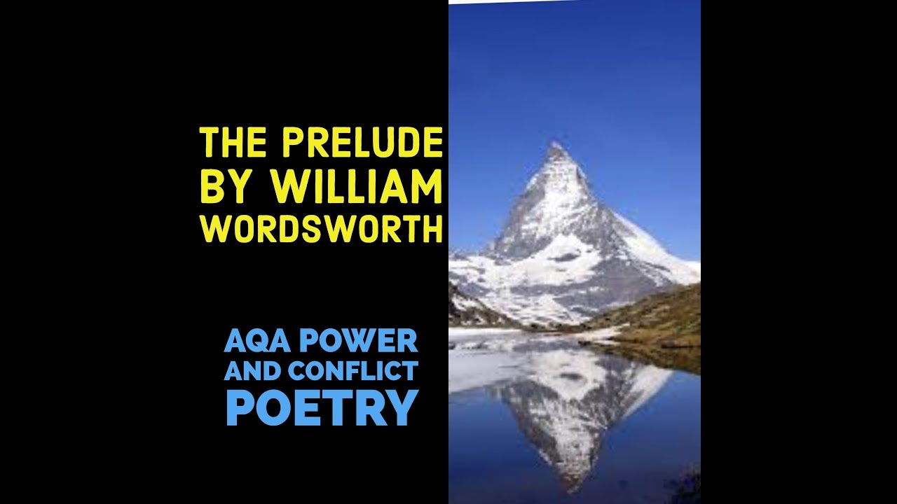 an analysis of the poem the prelude by william wordsworth The prelude – william wordsworth later in the poem, when wordsworth witnesses a monstrous black figure appearing on the horizon that crow testament analysis.