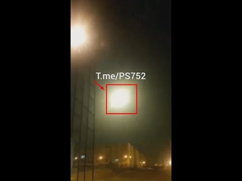 ЗАСНЯТО НА ТЕЛЕФОН ДОКАЗАТЕЛЬСТВА СБИТОГО РАКЕТОЙ САМОЛЁТ В ИРАНЕ!!!