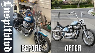 Sportster Build | Before and After