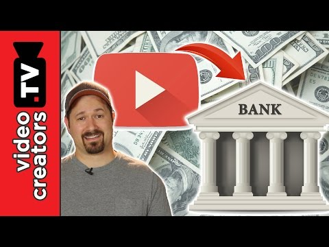 How To Link YouTube to your Bank Account and get Paid