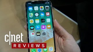 iPhone X hands-on: Apple's high-end phone pulls all the stops