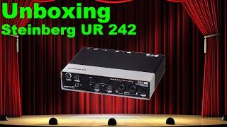 Unboxing Steinberg UR242