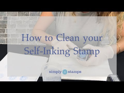 How to Clean your Self-Inking Stamp