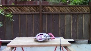 Diy Portable Table Saw Using A Skilsaw 77