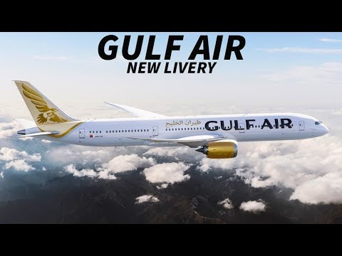 The FUTURE of GULF AIR & NEW LIVERY