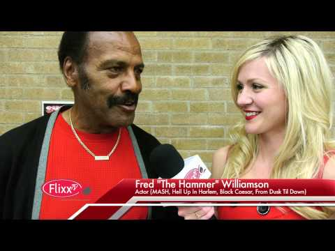 "FLIXX TV - Fred ""The Hammer"" Williamson Interview"