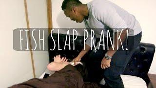 FISH SLAP PRANK | Vlogmas 2014 ad